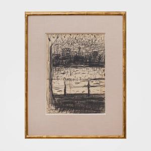 Wolf Kahn (b. 1927): The Charles River
