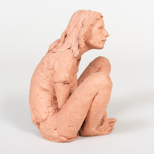 Marguerite Mendes: Untitled (Seated Girl)