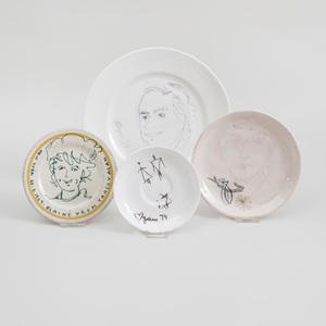 Yaacov Agam (b. 1928): Three Plates