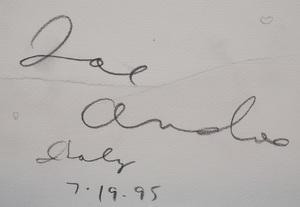 Joe Andoe (b. 1955): Leaves: A Pair
