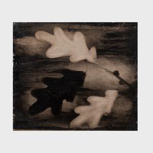 Joe Andoe (b. 1955): Untitled (Oak Leaves)
