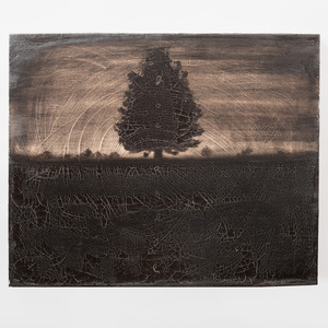 Joe Andoe (b. 1955): Untitled (Tree)