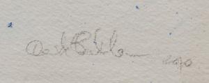 Davide Balula (b. 1978): Watercolor Pencil Sharpened Under the Rain