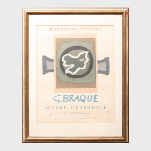 After Georges Braque (1882-1963): G. Braque Oeuvre Graphique: Four Posters