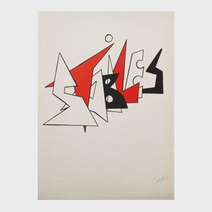 Alexander Calder (1898-1976): Stabiles