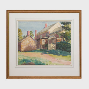 Alphaeus P. Cole (1876-1988): The Artist's Home (Old Lyme, Connecticut)