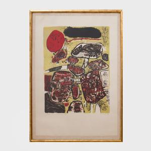 Guillaume Corneille (1922-2010): Le Soleil Rouge