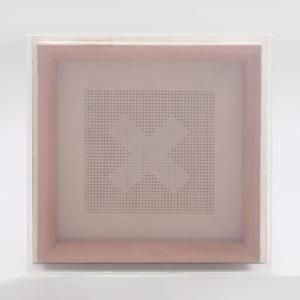 Benni Efrat (b. 1936): Untitled (Double X)