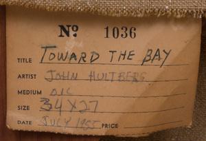 John Hultberg (b. 1922): Toward the Bay