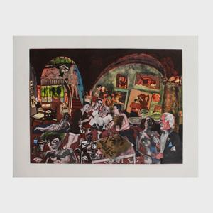 Warrington Colescott (b. 1921): Picasso at Mougins: The Etchings