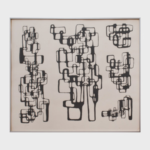 Ibram Lassaw (1913-2003): Untitled (Drawing for Sculpture)