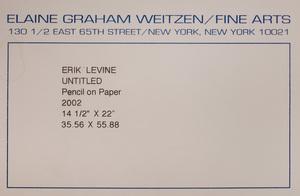 Erik Levine (b. 1960): Untitled