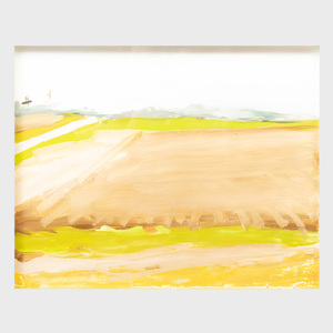 John MacWhinnie (b. 1945): Landscape #3--Out My Window