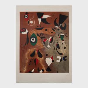 Joan Miró (1893-1983): Femmes, Oiseaux, Etoile