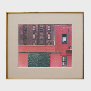 Arnold Newman (1918-2006): Red Brick Wall