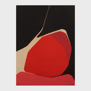 Pablo Palazuelo (1916-2007): Untitled (Red)