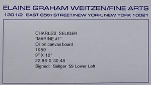 Charles Seliger (1926-2009): Marine #1