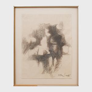 Esteban Vicente (1903-2001): Untitled