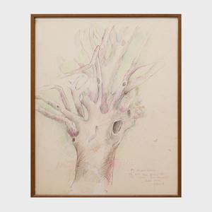 Ellen Adler (b. 1927): The Old Tree