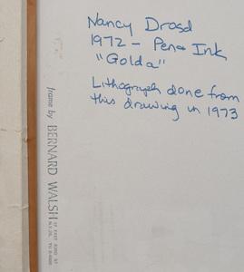 Nancy Drosd (1918-2018): Golda
