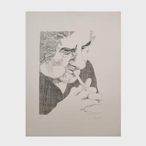 Nancy Drosd (1918-2018): Golda: Two Impressions