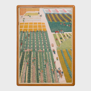 Chinese School (20th Century): Cultivating Cotton