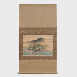 Chinese School (20th Century): Landscape Scroll