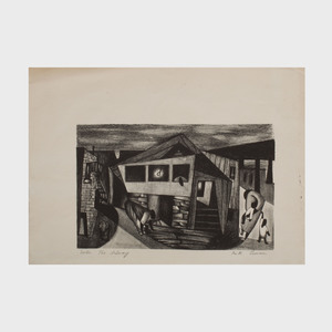 Ruth Lewin: House; and  Under the Subway