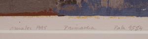 20th Century School: Estate; Primavera; Pala; and Autunno