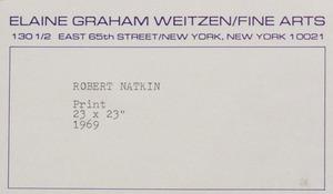 After Robert Natkin (b. 1930): Untitled