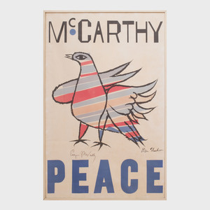 After Ben Shahn (1898-1969): McCarthy, Peace