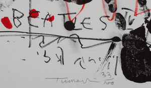 Igael Tumarkin (b. 1933): Beatles: Two Impressions