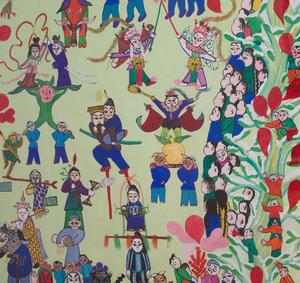 Chinese School (20th Century): Spring Festival