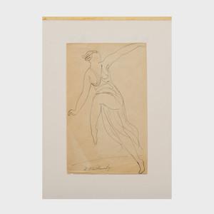 Abraham Walkowitz (1878-1965): Isadora Duncan