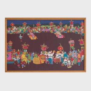 Cai Xian Tang: Festival at the Quing River Village