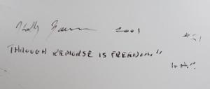 Holly Zausner (b. 1951): Through Remorse is Freedom