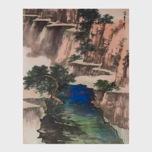 Xie Zhi Liu (1910-1997):  Landscape