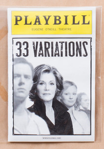 Jane Fonda in 33 Variations Poster