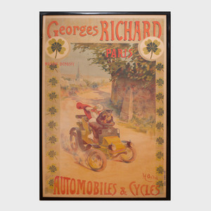 After Henri Behel : Georges Richard Automobiles and Cycles