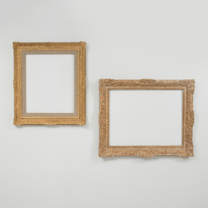 Two Régence Style Carved Giltwood Frames