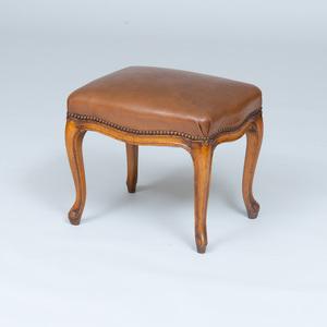 Louis XV Style Beechwood Tabouret