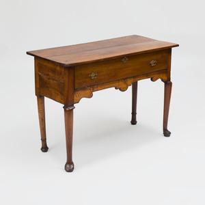 Rustic George II Walnut Sideboard