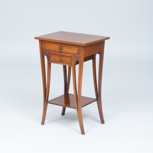 Art Nouveau Style Mahogany and Ash Small Reading Stand
