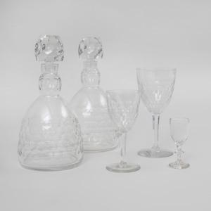 Baccarat Glass Part Stemware Service