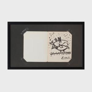 Pablo Picasso (1881-1973):  Pigeons