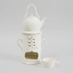 Creamware Veilleuse, Probably English