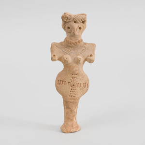 Syro-Hittite Pottery Votive Figure