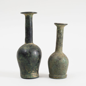 Pair of Luristan Bronze Supports