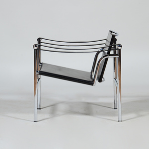 Corbusier Chrome and Leather 'LC1', for Cassina