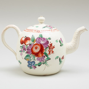 Wedgwood Creamware Teapot and Cover
